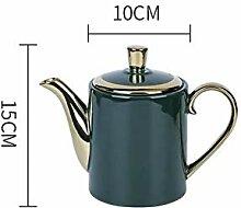 Services à thé Nordique lumière luxe émeraude