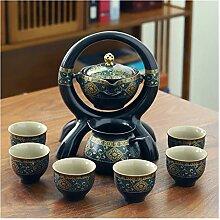Services à thé Pierre en céramique Meulage Tea