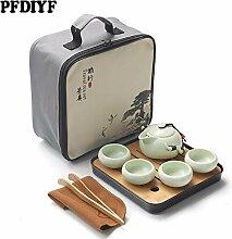 Services à thé Thé en céramique portable