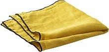 Serviette de table  lin jaune 40x40 cm