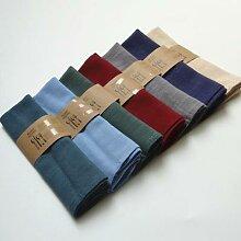 Serviettes de Table en coton et lin, 30x40CM, pour