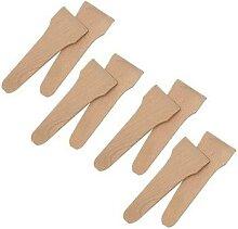 Set 8 spatules à raclette en bois de hêtre Kela