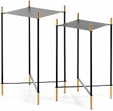 Set de 2 tables d'appoint Dagnen - Kave Home