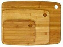 Set de 3 Planches à Découper Bambou
