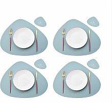 Set de 8 sets de table pour napperons, napperons