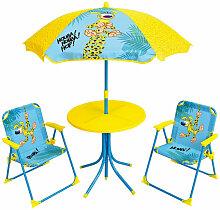 Set de jardin enfant - Marsupilami- table parasol