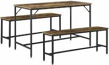 Set de meubles design de salle à manger table