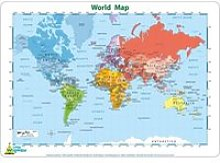 Set de Table Carte du Monde[201]
