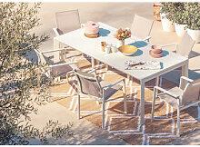 Set de table extensible Starmi (180-240 cm) et 6