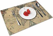 Set de Table Napperons Vintage datée ancienne
