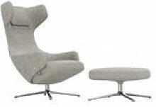 Set fauteuil & repose-pieds Grand Repos / Pivotant