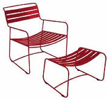 Set fauteuil & repose-pieds Surprising Lounger -