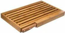 Set Planche à Pain & Couteau -Bambou- 44cm Naturel