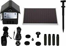 Set pompe solaire 250 l/h 30332 avec accumulateur