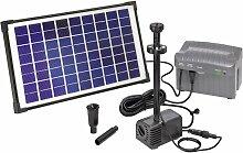 Set pompe solaire 750 l/h Esotec 101774 avec