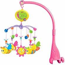 SETSCZY Baby Mobile für Kinderbetten mit Musik,