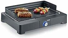 SEVERIN Barbecue de Table 2 200 W, Bac à Eau,