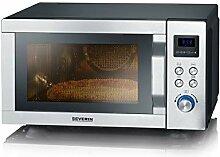 SEVERIN Micro-ondes 4 en 1 avec double grill, mini