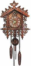 SFFD Horloge à Coucou Horloge Traditionnelle de