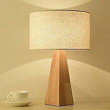 SFRIDQ Lampe de Table Moderne en Bois Simple