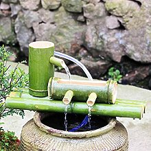 SGSG Kit de Fontaine enBambou, enBambou