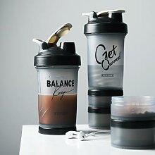 Shaker à lait en poudre de protéines, tasse en
