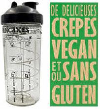 Shaker Miam Vegan / Pour crêpes et pancakes VEGAN