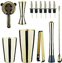Shakers à cocktails Cocktail Shaker Set En Acier