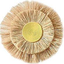ShapeW Boho Vintage Rotin Paille Décoration
