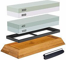 Sharpening Stone King, Couteau à eau double face