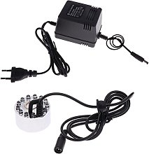 Sharplace Humidificateur Brumisateur 12 LED