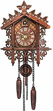 Shaying Pendule À Coucou Vintage, Horloge Murale