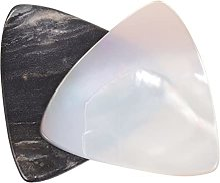 Shell Prend pour Électrique Guitare: 2Pcs Blanc