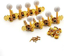 SHENGGLL Tuners 1 Ensemble R/L Mandolin Têtes de