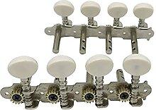 SHENGGLL Tuners Machines de Mandoline 4L + 4R
