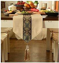 SHENGLI Nappe de table style zen chinois, moderne