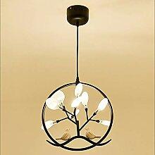 SHENLIJUAN LED Fire Fly Oiseaux Lampe Plafond