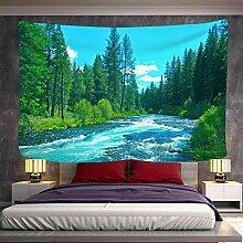 SHININGCN Tenture Murale Mandala Tapisserie Forêt