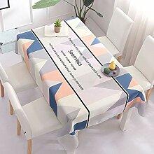 SHUTING2020 Nappe De Table Tissu imperméable Art