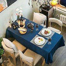 SHUTING2020 Nappe De Table Tissu Nappe Coton Fin