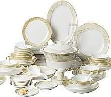 SHYPT Céramique vaisselle plats ensemble os