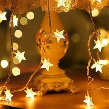 Sicsaee-guirlande lumineuse féerique, LED,