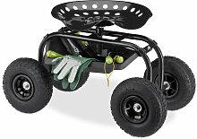 Siège sur roues pour jardin, atelier,150 kg,