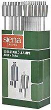 Siena Garden Öllampe Lampe à Huile, argenté