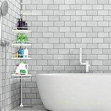 SiFree®Etagère d'angle de douche
