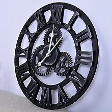 SiFree®Grand Horloge Murale 3D Mécanique Home