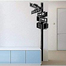 Signe de signalisation routière Personnalité