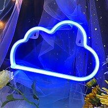 Signes néon LED pour décoration murale,