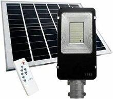 SILAMP Luminaire Extérieur LED Solaire 50W