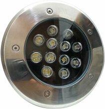 Silamp - Spot LED Extérieur Encastrable IP65 220V